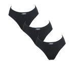 3-Pack Racky Naadloze dames slips High Leg mini Zwart_