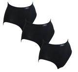 3-Pack Racky Dames Tailleslips (Maxi) Zwart_