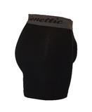 3-Pack Gionettic Bamboe Heren boxershorts Zwart_