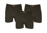Basic 3-Pack Heren boxershorts Zwart_