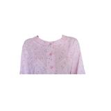 Cocodream Dames nachthemd met lange mouw Roze Hartjes_