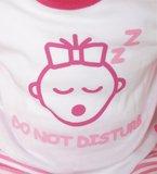 Beeren Baby pyjama M3000 Do not Disturb Roze_
