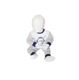 Beeren Baby pyjama M3000 Do not Disturb Grijs_