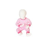Beeren Baby pyjama M3000 Star Roze_