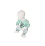 "Beeren Baby pyjama ""To the Moon"" Mint_"