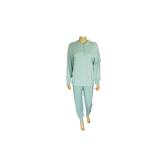 Lunatex Katoenen dames pyjama Groen_