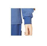 Lunatex Katoenen dames pyjama Navy_