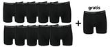 10+1 gratis Heren boxershorts Maxx Owen Zwart_