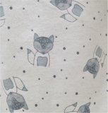 Cocodream Flanel Pyjama Forest Wit_