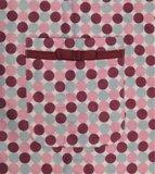 Cocodream Flanel Pyjama Dots Roze_