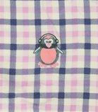 Cocodream Flanel Pyjama Blocks Roze_