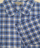 Cocodream Flanel Pyjama Blocks Blauw_