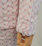 Cocodream Flanel Pyjama Blaadje Roze_