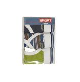 Gino Santi Sport 3-pack Jongens slips met gulp Groen_
