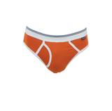 Gino Santi Sport 3-pack Jongens slips met gulp Oranje_