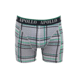 Apollo 2-Pack Heren boxershorts Green/Black_