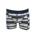 """Apollo 2-Pack Heren boxershorts """"Ster"""" Bruin/Geel_"""