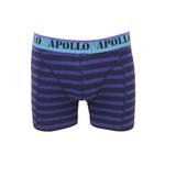 Apollo 2-Pack Heren boxershorts Paars/Bleu_