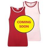 Beeren 2-Pack Mix&Match meisjes hemden L.Roze/D.Rood_
