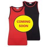 Beeren 2-Pack Mix&Match meisjes hemden Rood/Zwart_