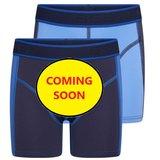 Beeren 2-Pack Mix&Match  Jongens boxershorts Blauw/D.Blauw_