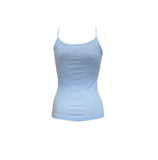 Beeren 6-Pack Dames spaghetti hemd Beeren Young Bleu_