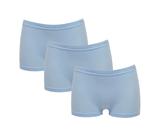 Beeren 3-Pack Dames boxershorts Beeren Young Bleu_