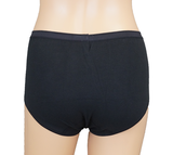 3-pack Lunatex dames Maxi slips (Taille) Zwart_