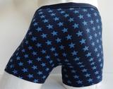 Gentlemen Heren boxershort Stars 2 Marine_