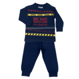 Fun2Wear Kinder pyjama Do Not Disturb Marine_