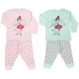 Fun2Wear Kinder pyjama Dance Princess Mint_