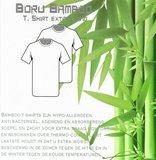 Beeren Bamboe heren T-shirt Korte Mouw Zwart_