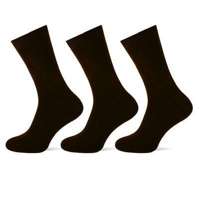 Teckel 3-Pack heren sokken Zwart