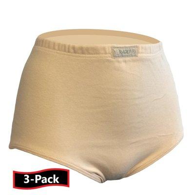 3-Pack Racky Dames Tailleslip (Maxi) Huid