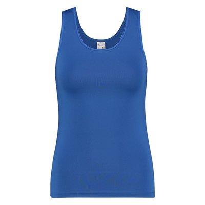 Beeren Dames hemd breed bandje Elegance Hemelsblauw