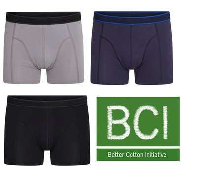 Beeren 3-Pack Heren boxershorts C.F. Hugo ass
