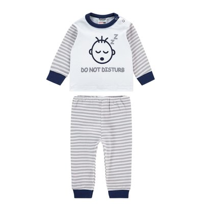 Beeren Baby pyjama M3000 Do not Disturb Grijs