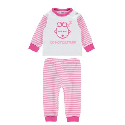 Beeren Baby pyjama M3000 Do not Disturb Roze