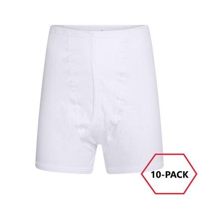 10-Pack Beeren Heren sportbroek M3400 Wit