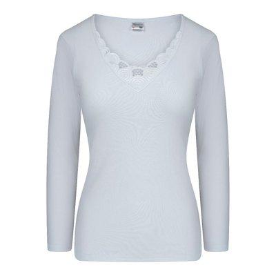 Beeren Dames shirt met L.M. Beatrix M3000 Wit