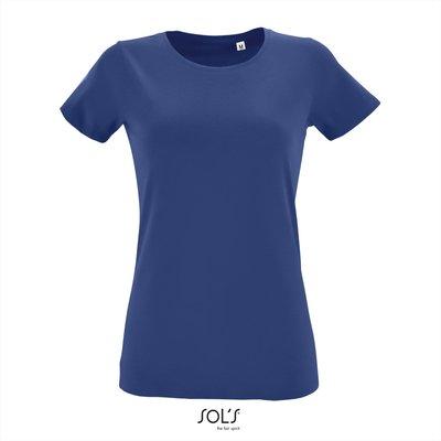 Dames T-shirt met O-Hals Royal Blue