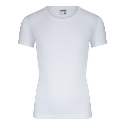 Beeren Jongens T-shirt met O-Hals en K.M. M3000 Wit