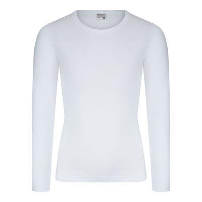 Beeren Jongens T-shirt met O-Hals en L.M. M3000 Wit