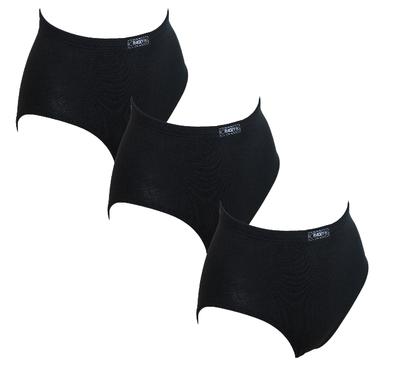 3-Pack Racky Dames Tailleslips (Maxi) Zwart