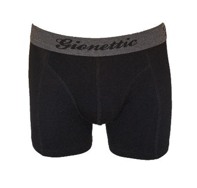 Gionettic Bamboe Heren boxershort Zwart