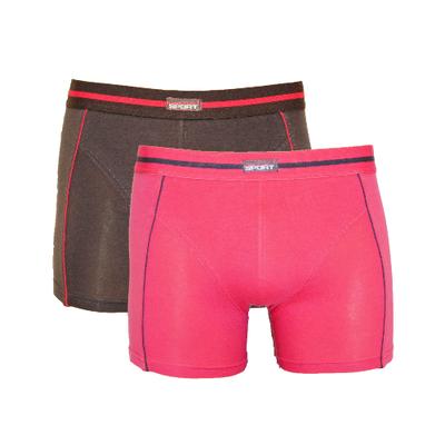 Gino Santi 2-Pack Jongens boxershorts Roze