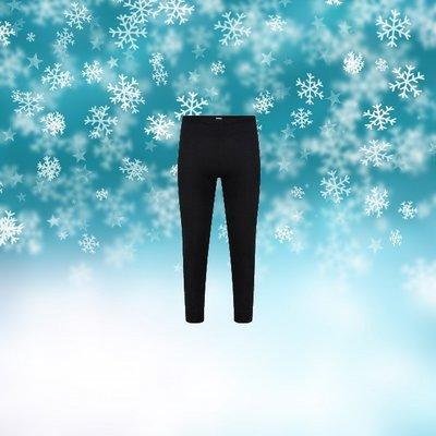 Beeren Unisex Thermo pantalon Zwart