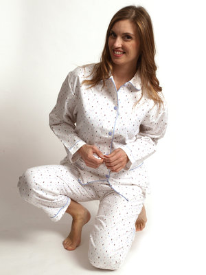 Cocodream Flanel Pyjama Tree Wit