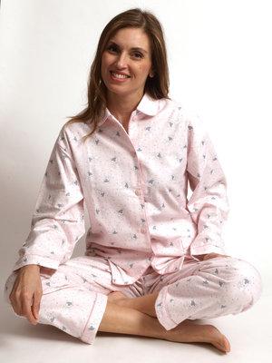 Cocodream Flanel Pyjama Forest Roze
