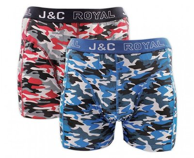 J&C 2-pack Heren boxershorts H235-30050